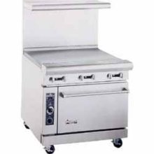 "American Range AR36G 36"" Heavy Duty Restaurant Range with 36"" Griddle and 1 Oven"