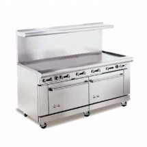"American Range AR72G 72"" Heavy Duty Restaurant Range with Griddle and 2 Ovens"