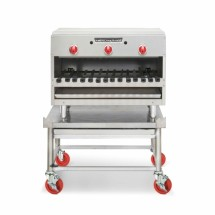 "American Range AROB-24 24"" Gas Counter Overfired Broiler with 2 Infrared Burners"