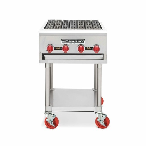 "American Range ARRB-12 12"" W Heavy Duty Radiant Char Broiler Counter Model"
