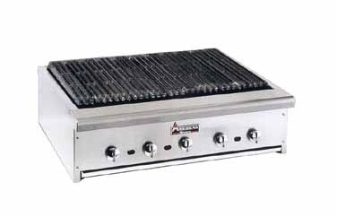"American Range ARRB-60 60"" W Heavy Duty Radiant Char Broiler Counter Model"
