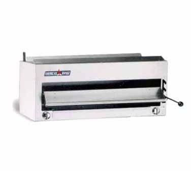 "American Range ARSB-36 36"" W Gas Salamander Broiler with 2 Infra-Red Burners"