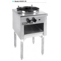 "American Range ARWR-3R Wok Range with 3 Ring Burner 16"" Diameter"