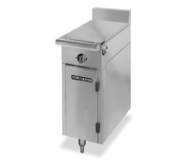 "American Range HD11-1HT-O Medallion Series 11"" Heavy Duty Range Even Heat Hot Top with Storage Base"