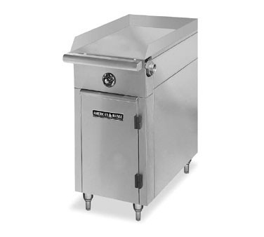 "American Range HD17-17TG-O Medallion Series 17"" Heavy Duty Range with Thermostatic Griddle and Storage Base"