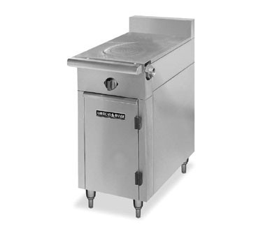 "American Range HD17-1FT-O Medallion Series 17"" Heavy Duty Range with French Top and Storage Base"