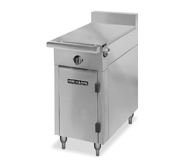 "American Range HD17-1HT-O Medallion Series 17"" Heavy Duty Range  Even Heat Hot Top and Storage Base"