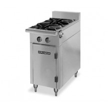 "American Range HD17-2-M Medallion Series 17"" Heavy Duty Range with 2 Open Burners and Modular Top"