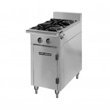 "American Range HD17-2-O  Medallion Series 17"" Heavy Duty Range with 2 Open Burners and  Storage Base"