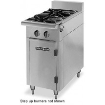 "American Range HD17-2SU-M Medallion Series 17"" Heavy Duty Range with 2 Step-Up Burners and Modular Top"