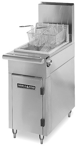 American Range HD17-WS120 Medallion Series Heavy Duty Range Match Fryer Dump Station