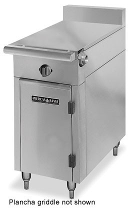 "American Range HD34-34PG-1 Medallion Series 34"" Heavy Duty Range with Plancha Griddle and Standard Oven"