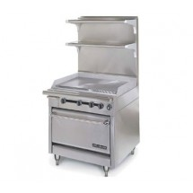 "American Range HD34-34VG-M Medallion Series 34"" Heavy Duty Range with 34"" Griddle and Modular Top"