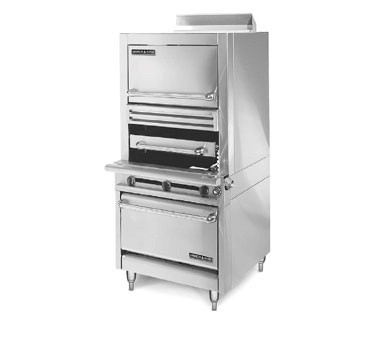 American Range HDIR34-O  Medallion Infra-Red Broiler with Storage Base