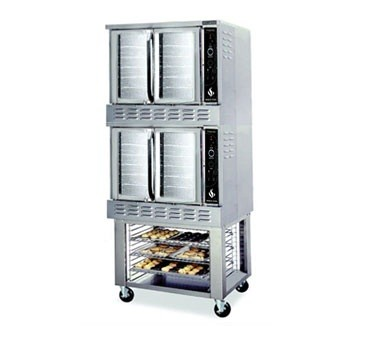 American Range M-2 Gas Double Deck Convection Oven Bakery Depth