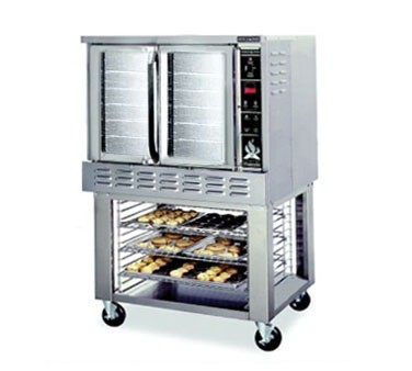 American Range MA-1 Gas Single  Deck Convection Oven Bakery Depth Programmable Control