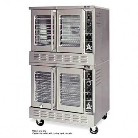 American Range ME-2 Electric Double Deck Convection Oven Bakery Depth