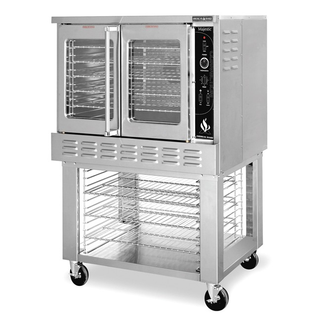American Range MSD-1 Gas Single Deck Convection Oven Standard Depth