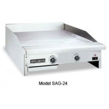 "American Range SAG-48 48"" W Thermostatic Gas Griddle Counter Unit"