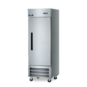Arctic Air AF23  Solid Door Reach-In Freezer 23 Cu. Ft.
