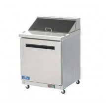 Arctic Air AST28R One Door Sandwich / Salad Prep Table  29""