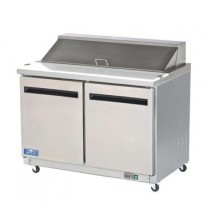 Arctic Air AST48R  Two Door  Sandwich / Salad Prep Table 48""