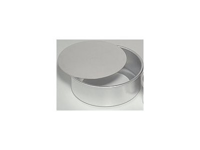 "Ateco 12083 Professional Round Cake Pan with Removable Bottom 8"" x 3"""