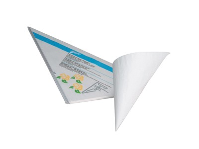 Ateco 454 Parchment Paper Triangles 500 Sheets