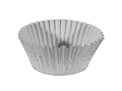 Ateco 6432 6 oz. Silver Baking Cups