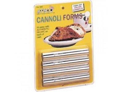 Ateco T660 Cannoli Forms (Set of 4)