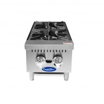 """Atosa ACHP-2 Heavy Duty Two Burner Hot Plate, 12"""""""