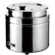 Atosa AT51388 Electric Stainless Steel Soup Kettle 9 Qt.