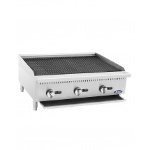 Atosa ATCB-36 Heavy Duty Countertop Char-Rock Broiler 36""