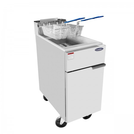 Atosa ATFS-40 Stainless Steel Deep Fryer 40 Lb.