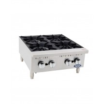Atosa ATHP-24-4 Heavy Duty Four-Burner Hotplate, 24""