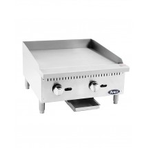 Atosa ATMG-24 Heavy Duty Manual Griddle, 24""