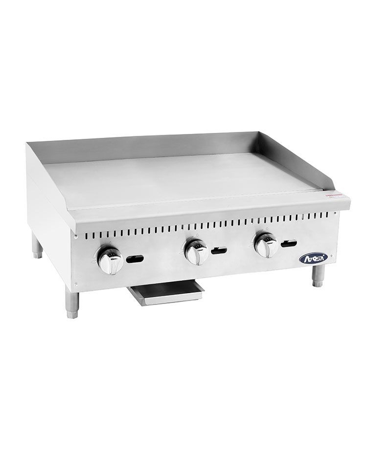 Atosa ATMG-36 Heavy Duty Manual Griddle, 36