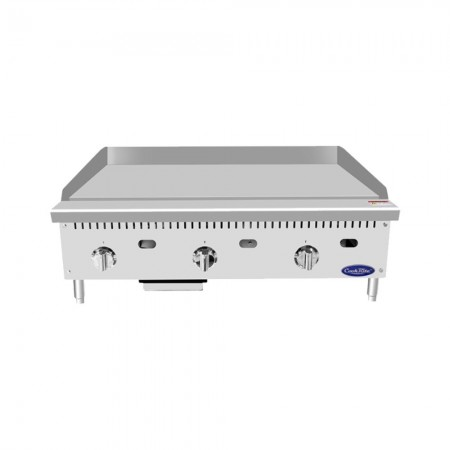 """Atosa ATMG-36T 36"""" HD Thermostatically Controlled Commercial Griddle"""