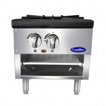 Atosa ATSP-18-1L Single Stock Pot Stove, Lower Version