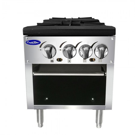 Atosa ATSP-18-2 Double Stock Pot Stove