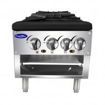 Atosa ATSP-18-2L Double Stock Pot Stove, Lower Version