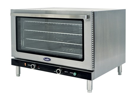 Atosa CRCC-100 Full Size Countertop Convection Oven with Steam Injection