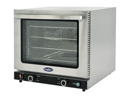 Atosa CRCC-50S Half Size Countertop Convection Oven with Steam Injection
