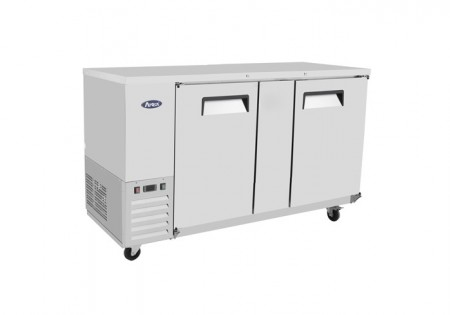 Atosa MBB69 Stainless Steel Back Bar Cooler, 69""