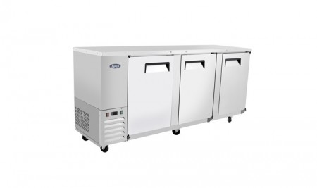 Atosa MBB90 Stainless Steel Back Bar Cooler, 90""