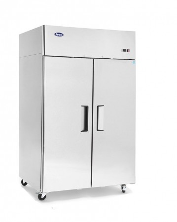 Atosa MBF8002 Top Mount Reach In Two Door Freezer 52""