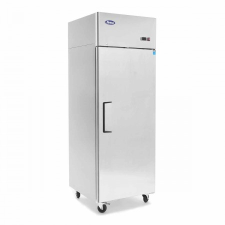 Atosa MBF8004GR Top Mount Reach In One Door Refrigerator 29""
