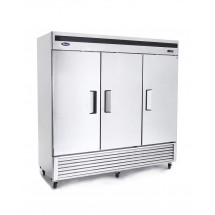 Atosa MBF8504 Bottom Mount Reach In Three Door Freezer 82""