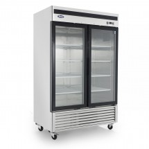Atosa MCF8703 Bottom Mount Two Glass Door Freezer 55""