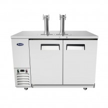 Atosa MKC58 Dual Faucet Tower Keg Cooler, 58""